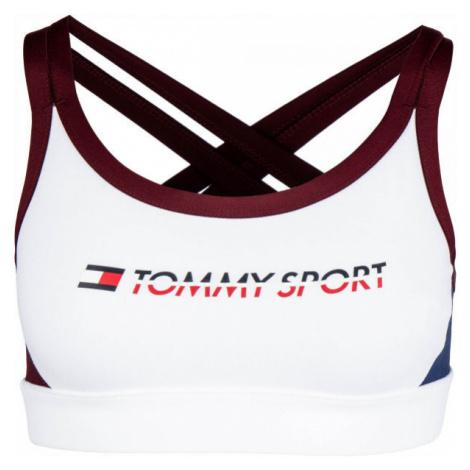 Tommy Hilfiger CO/ EL LOW SUPPORT BRA LOGO white - Women's bra