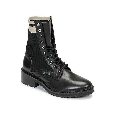 Les Tropéziennes par M Belarbi ZINA women's Mid Boots in Black