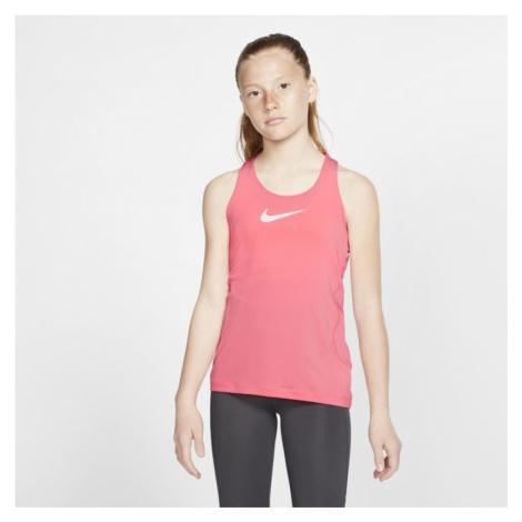 Nike Pro Older Kids' (Girls') Tank - Pink