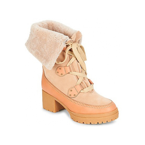 See by Chloé AMY women's Snow boots in Beige