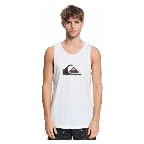 top Quiksilver Comp Logo - WBB0/White - men´s