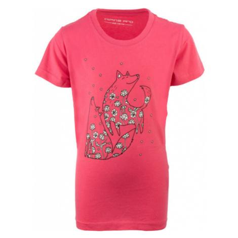 ALPINE PRO SADLERO pink - Children's T-shirt
