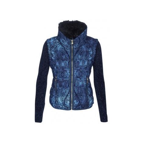Desigual ALEXANDRA women's Jacket in Blue