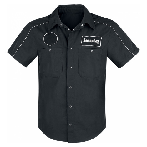 Doomsday - Trimmed Workshirt - Workershirt - black