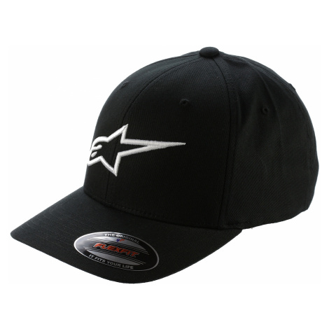 cap Alpinestars Ageless Curve - Black/White