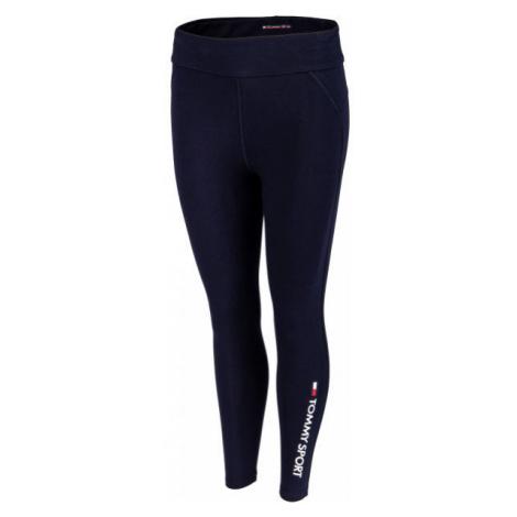 Tommy Hilfiger CO/EL 7/8 LEGGING dark blue - Women's leggings