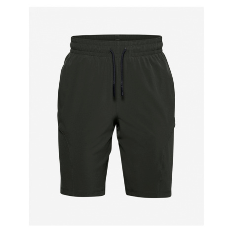 Under Armour Project Rock Utility Kids Shorts Green