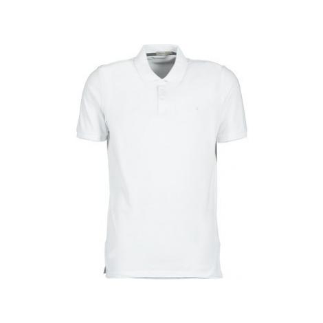 Calvin Klein Jeans PAUL men's Polo shirt in White