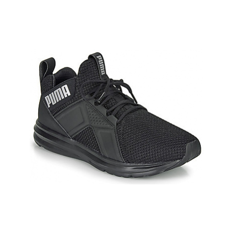 Puma ENZO WEAVE JUNIOR girls's Children's Shoes (Trainers) in Black