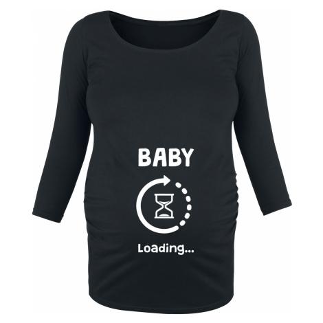 Maternity fashion - Baby Loading - Girls longsleeve - black