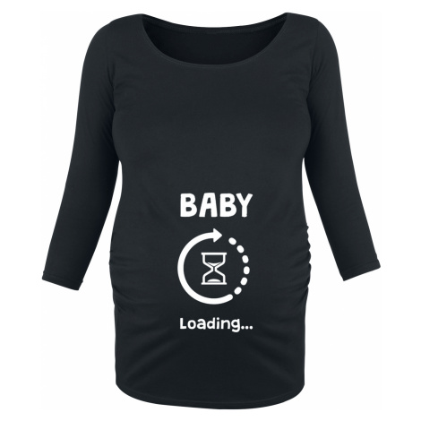 Maternity fashion - Baby Loading - Girls longsleeve - black