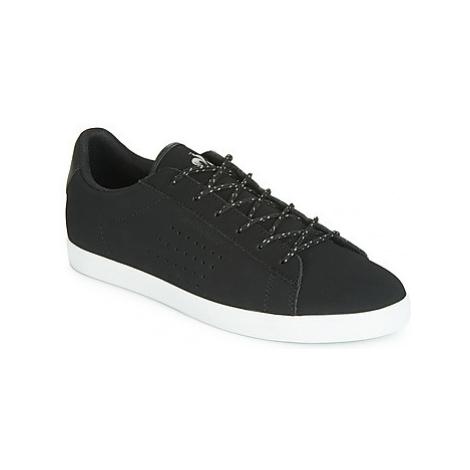 Le Coq Sportif AGATE NUBUCK women's Shoes (Trainers) in Black