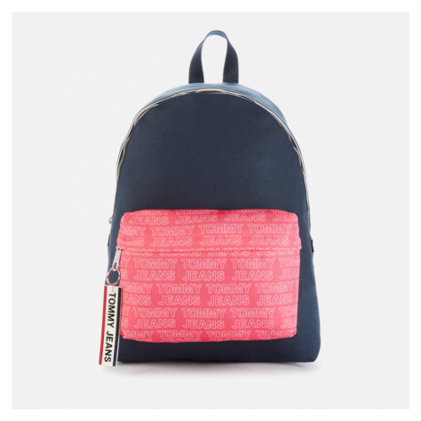 Tommy Jeans Women's Logo Tape Dome Backpack - Glamour Pink Tommy Hilfiger