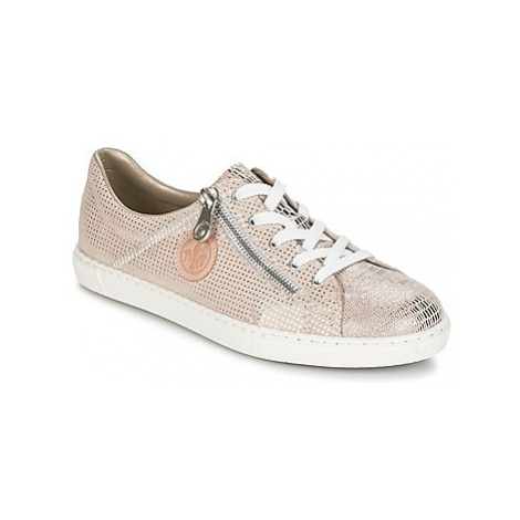 Rieker MORLAVOINE women's Shoes (Trainers) in Pink