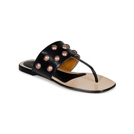 Keyté DELLIA women's Flip flops / Sandals (Shoes) in Black