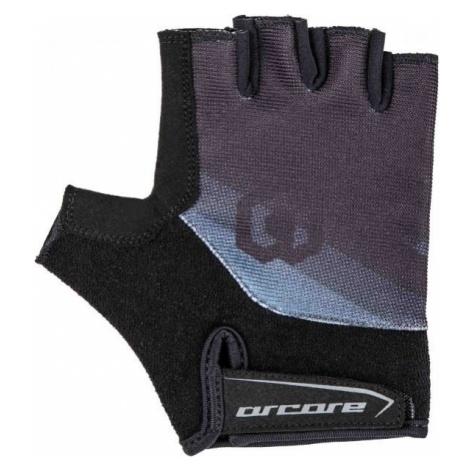Arcore RACER black - Short finger cycling gloves