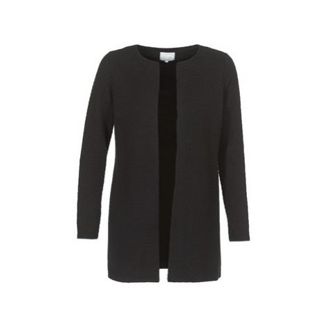 Vila VINAJA LONG women's Jacket in Black