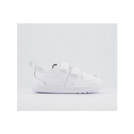 Nike Pico 5 Infant Trainers WHITE