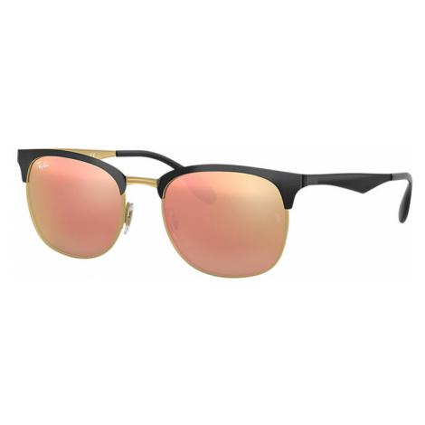Ray-Ban Rb3538 Unisex Sunglasses Lenses: Pink, Frame: Black - RB3538 187/2Y 53-19