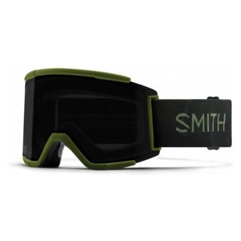 Smith SQUAD XL green - Unisex downhill ski goggles