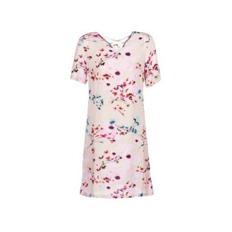 Cream ATAMA women's Dress in Pink