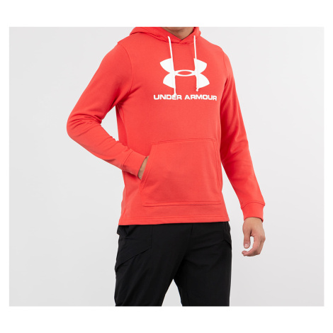 Under Armour Sportstyle Terry Logo Hoodie Red