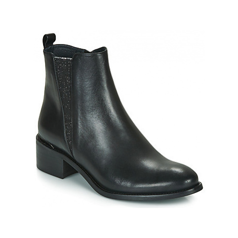 Myma PETINA women's Low Ankle Boots in Black