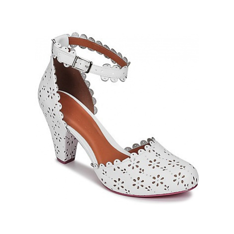 Cristofoli OULALOU women's Court Shoes in White Cristófoli