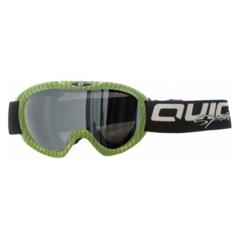 Quick JR CSG-030 green - Kids' ski goggles