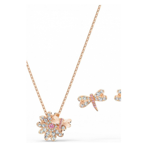 Ladies Swarovski Jewellery Eternal Flower Gift Set 5518141