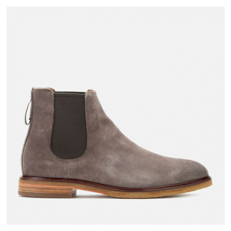 Clarks Men's Clarkdale Gobi Suede Chelsea Boots - Taupe - UK
