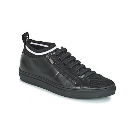 HUGO FUTURISM TENN ITKN men's Shoes (Trainers) in Black Hugo Boss