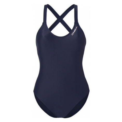 Blue women's sports swimwear