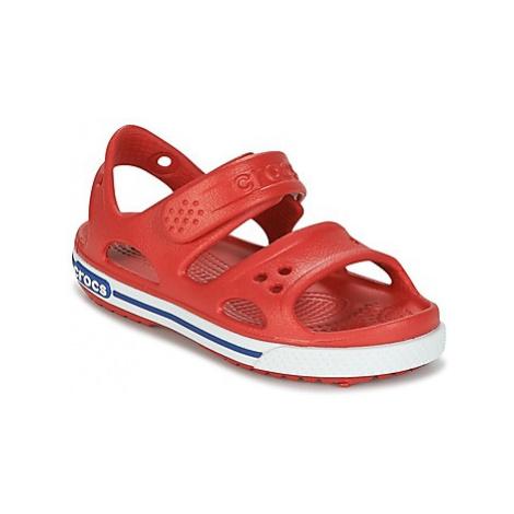 Crocs CROCBAND II SANDAL PS boys's Children's Sandals in Red