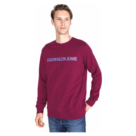 Calvin Klein Sweatshirt Red Violet