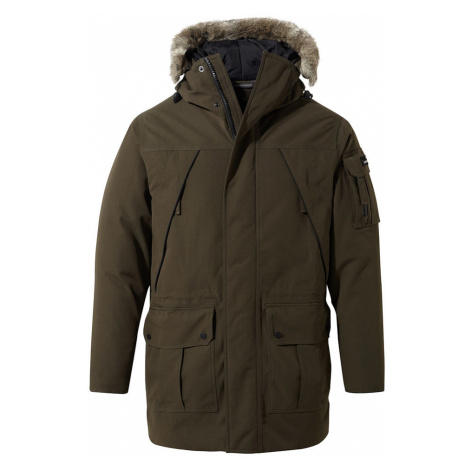 Craghoppers Mens Bishorn Waterproof Insulated Jacket-Woodland Green-S