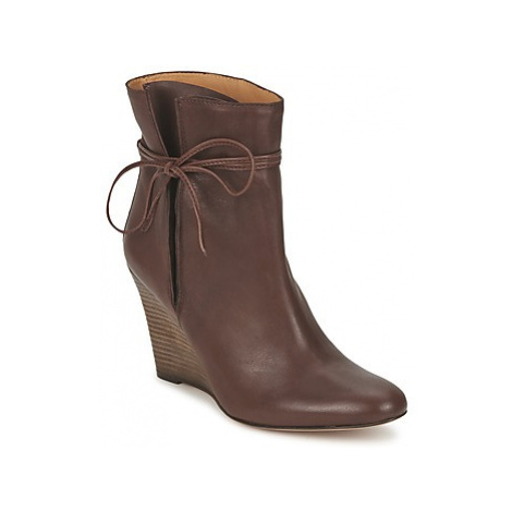 Atelier Voisin ORMENT women's Low Ankle Boots in Brown