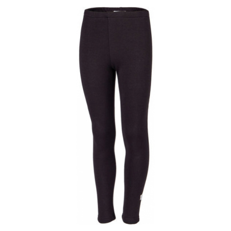 Lewro ZORICA black - Girls' insulated tights