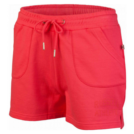 Russell Athletic LOGO SHORTS red - Women's shorts
