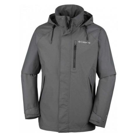 Columbia GOOD WAYS II JACKET dark gray - Men's outdoor jacket
