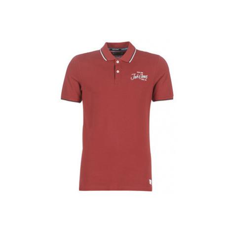 Jack Jones JORBEAMS men's Polo shirt in Red Jack & Jones