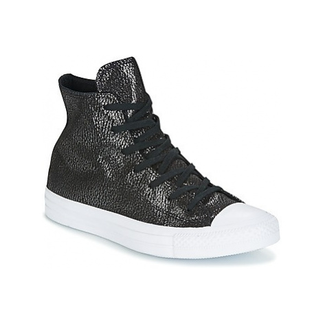 Converse Chuck Taylor All Star Hi Tipped Metallic women's Shoes (High-top Trainers) in Black