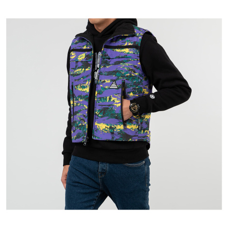 Billionaire Boys Club Reversible Ski Vest Purple Camo/ Black