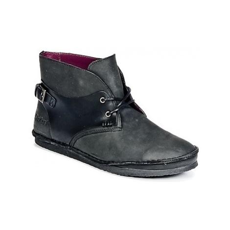 Kickers MYSTIMIX women's Mid Boots in Black