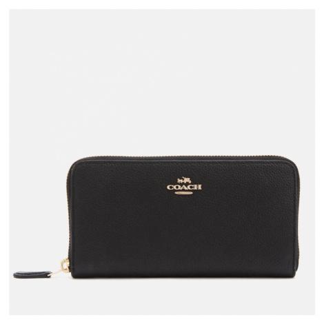 Coach Women's Accordian Zip Wallet - Black