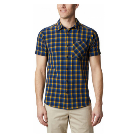 Columbia TRIPLE CANYON™ SS SHIRT yellow - Men's shirt
