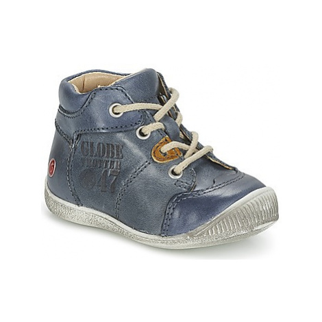 GBB SIMEON boys's Children's Shoes (High-top Trainers) in Blue