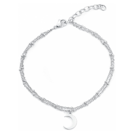 Wildcat Moon Multilayer Ankle Chain Ankle Chain silver coloured