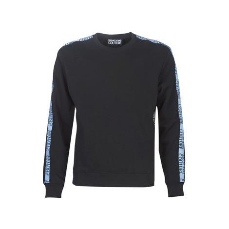Versace Jeans Couture UUP302 TAPE LOGO men's Sweatshirt in Black