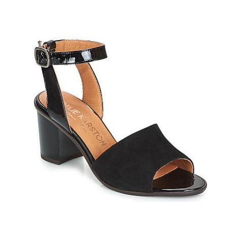 Karston LIBOU women's Sandals in Black